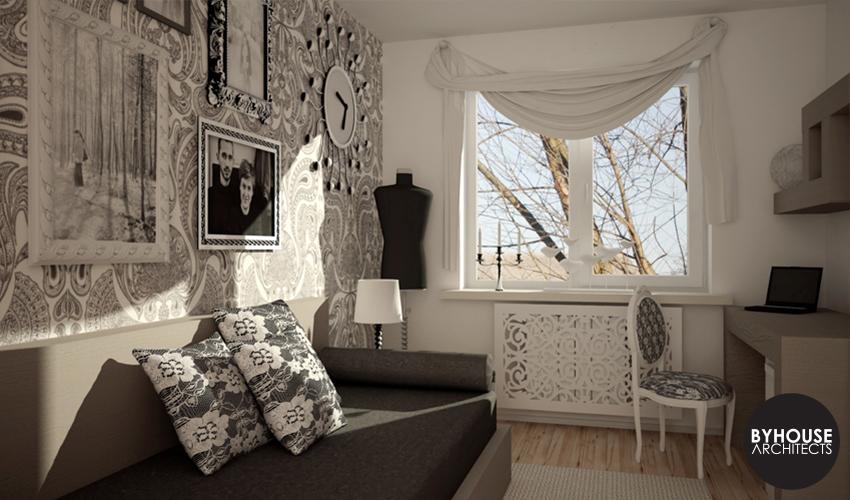 byhouse architects projektowanie wnętrz białystok pokój nastolatki