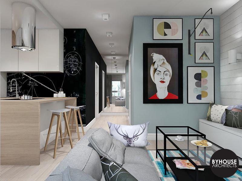2. projektowanie wnętrz białystok skandynawski byhouse architects