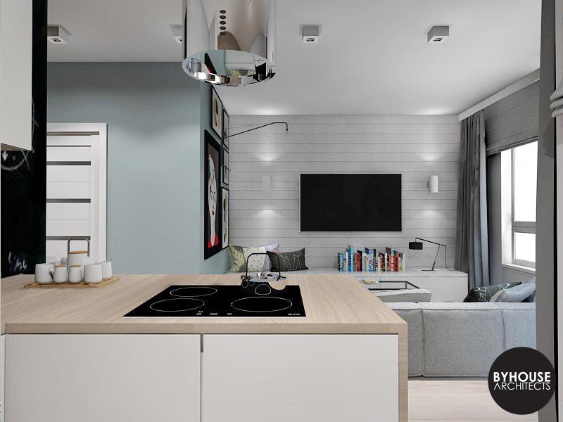 3. aranżacja wnętrz styl skandynawski białystok byhouse architects