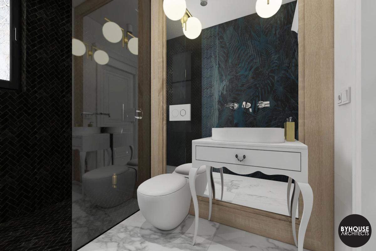 2. projektowanie wnętrz białystok_łazienka klasyczna nowoczesna byhouse architects