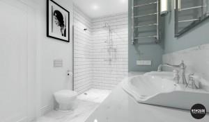 2 byhouse architects projekt łazienki styl new york