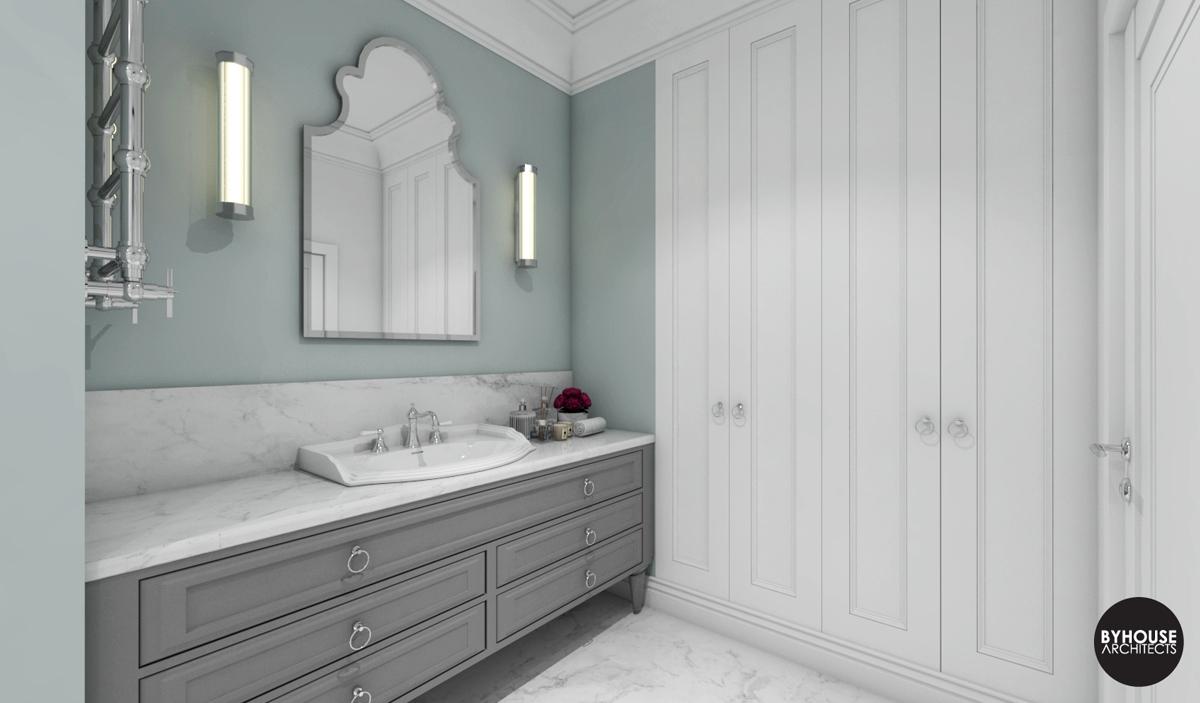 3 byhouse architects projekt łazienki styl new york