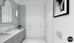 4 byhouse architects projekt łazienki styl new york