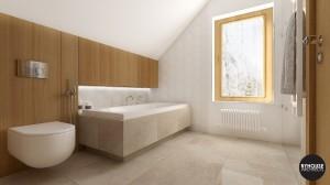 5 BYHOUSE ARCHITECTS projekt łazienki łazienka w drewnie łazienka nowoczesna