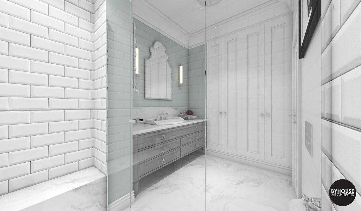 5 byhouse architects projekt łazienki styl new york